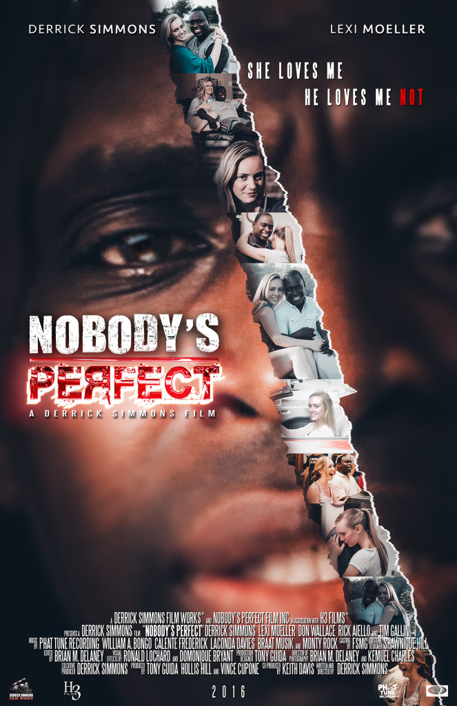Nobody's Perfect A Derrick Simmons Poster with credits